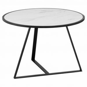 Round Marble Low Coffee Table