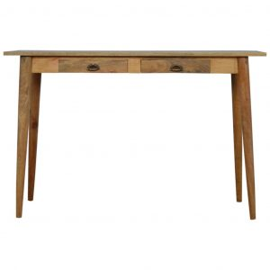 Nordic Style Writing Desk with 2 Drawers