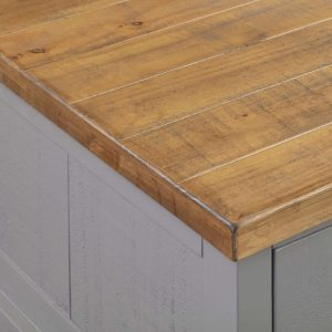 The Byland Collection Grey 6 Drawer Coffee Table