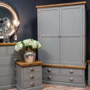 The Byland Collection 3 Drawer 2 Door Wardrobe