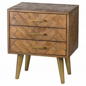 Havana Gold Chest of 3 Drawers